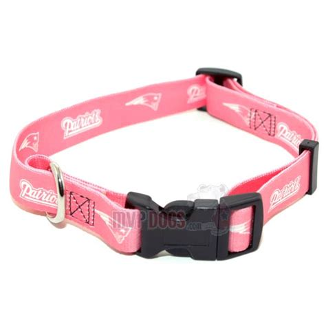 patriots collar new patriots nfl pink collar