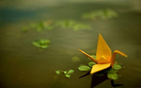 origami paper cranes wallpapers hd desktop  mobile
