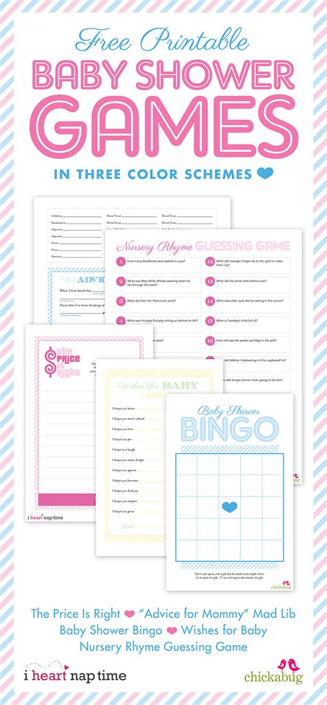 printable baby shower free printable boy baby shower games