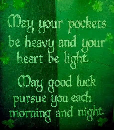 irish good luck quotes quotesgram