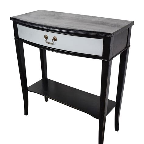 74 etsy etsy vintage black and grey console table