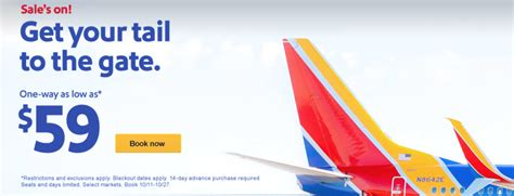 Southwest Sale | a new southwest sale from 41 awards from 1 800 points