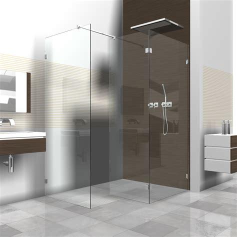 duschabtrennung feststehend walk in dusche glas innenarchitektur und m 246 belideen