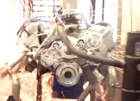 video hp ford boss  motor  boom   dyno stangtv