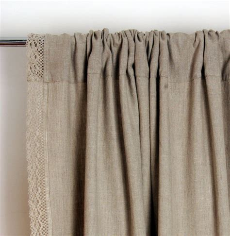 hypoallergenic curtains lace linen curtain custom length window curtains