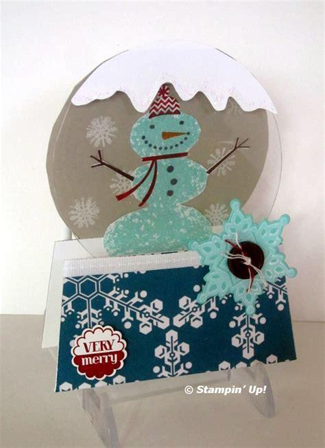 how to make a snow globe card snow globe card flowerbug s inkspot