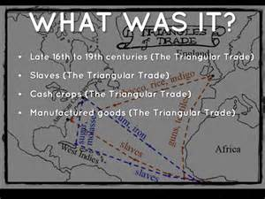 what are trade triangular trade by rubi2746