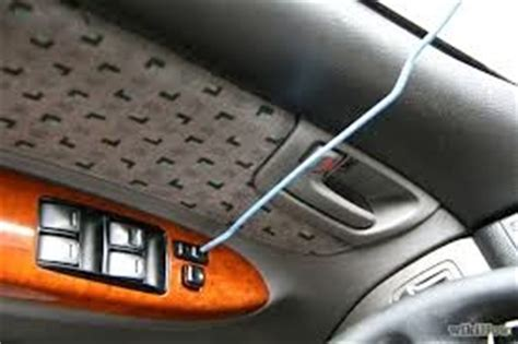 Unlock Car Door With Hanger by Unlocking A Car