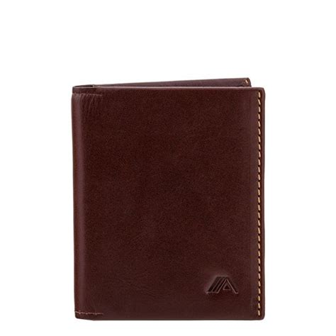 Origami Leather Wallet - a slim leather wallet origami brown wallets