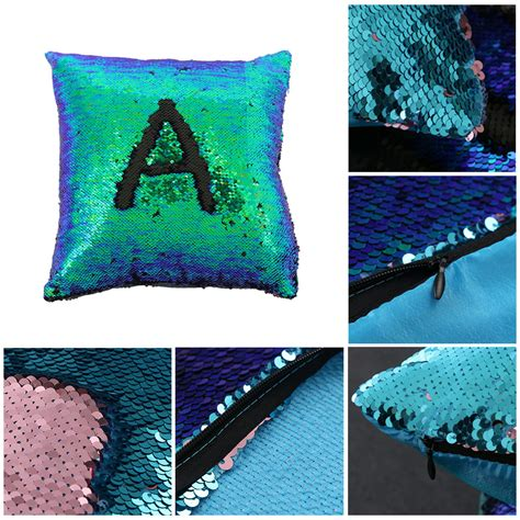 mermaid couch reversible sequin double color mermaid glitter sofa