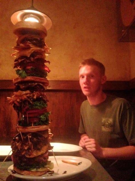 bite tallest sandwich   world omg
