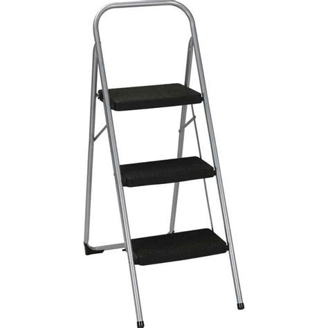 Cosco Folding Stool by Cosco Three Step Big Step Folding Step Stool