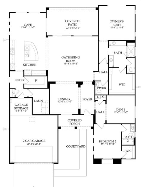 Webb Floor Plans by Webb Dove Mountain Endeavor With 2474 Sf