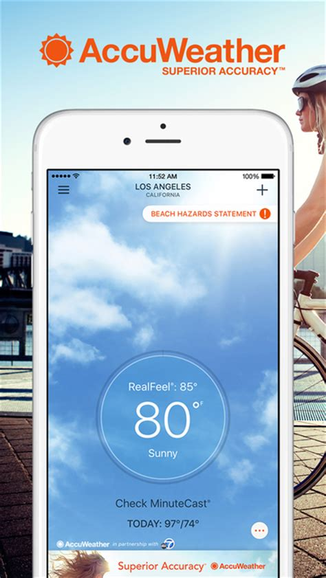 accuweather app for android accuweather weather for apprecs