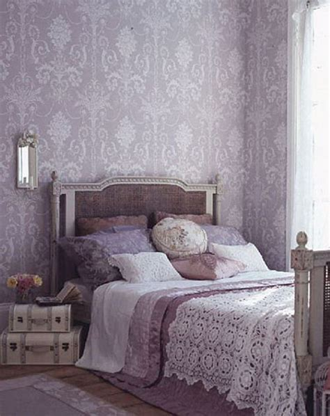 Grey Vintage Bedroom Wallpaper 80 Inspirational Purple Bedroom Designs Ideas Hative