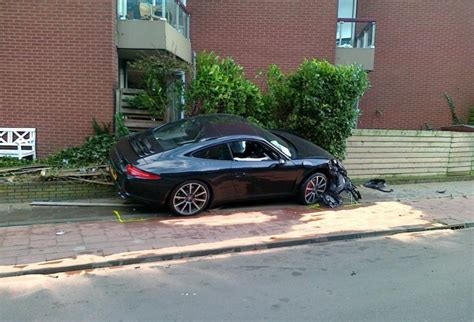 Porsche Crash by Porsche Crash New Porsche 911 Wrecked