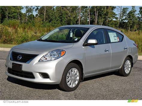 silver nissan versa brilliant silver metallic 2012 nissan versa 1 6 sv sedan