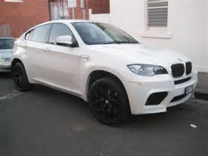 Bmw White X6 Bmw X6 M In White With Black Wheels 3 Madwhips