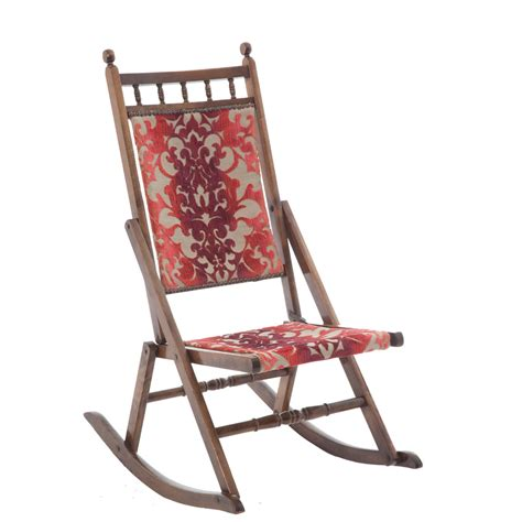 Folding Rocking Chairs by Edwardian Folding Rocking Chair The Unqiue Seat Company