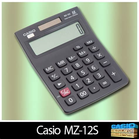 Casio Calculator Mz 12s by Www Casio Calculator Casio 001