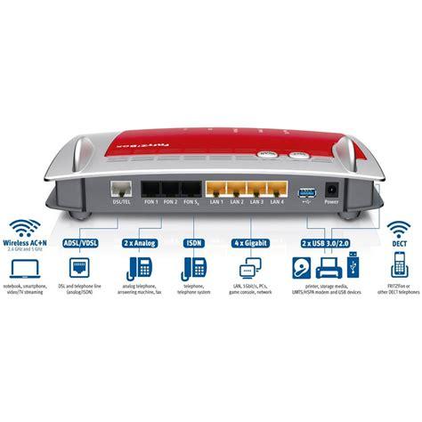 ufficio legale fastweb fritz modem router box 7490 adsl fibra vdsl ac1750