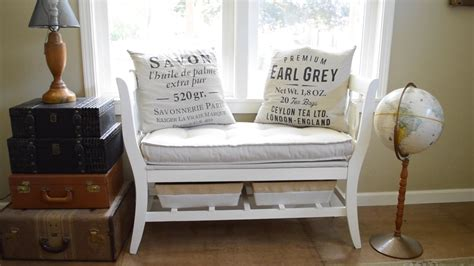 chair bench diy how to make a diy salvaged chair french bench