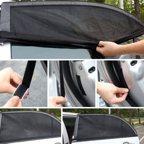 Lu Led Pintu Mobil 2pcs sun shade kaca jendela mobil size s black jakartanotebook