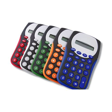 colorful calculator 4imprint ca colourful calculator c108960