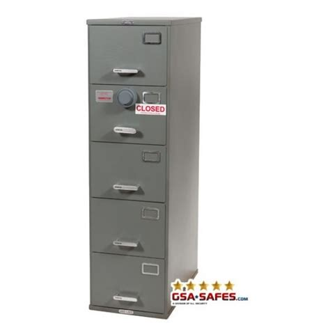 5 drawer file cabinet with lock 7110 00 919 9193 class 6 5 drawer gsa approved file