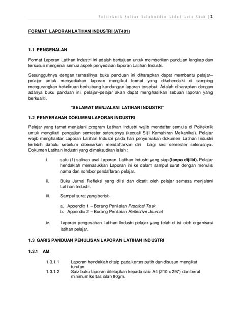 format cd li format penulisan laporan li 2012