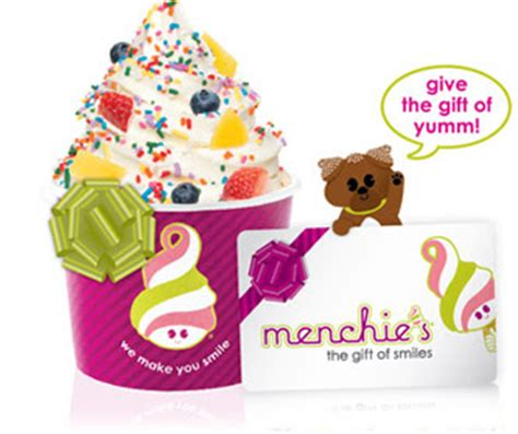 Menchies Gift Cards - menchie s buy one get one free get your gift card for gifts and get a bonus card