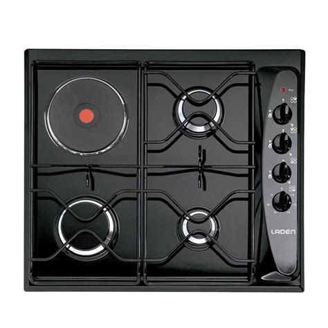 plaque de cuisson mixte 1393 laden pge 300nb table de cuisson mixte achat vente