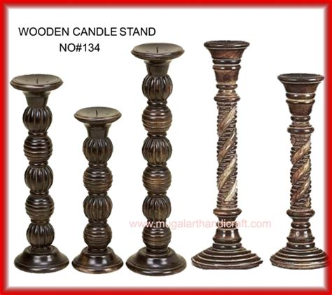 Wooden Candle Stands Wooden Candle Stands Mugal Glass Manufacturer