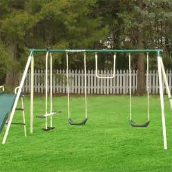 6 station backyard swing set would be an enjoyable place