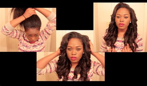 Hairstyles With Tracks Sewed In by Versatile Looking Sew In You Can Put In A High