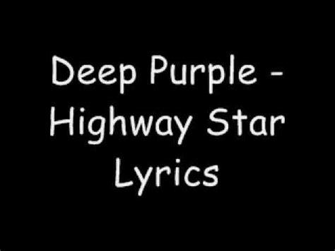 highway to testo purple highway lyrics
