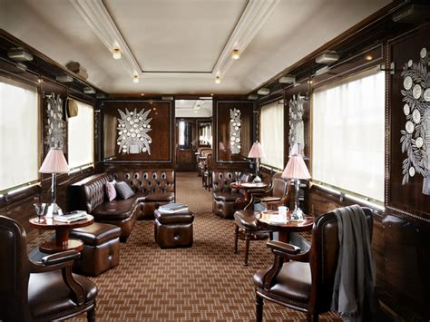 Interior Express by Traveler Guide Venice Simplon Orient Express