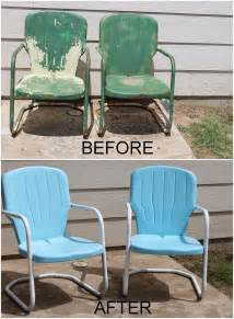 Best Spray Paint For Metal Patio Furniture Repaint Old Metal Patio Chairs Diy Paint Outdoor Metal