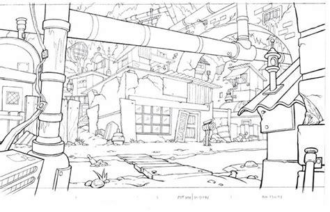 layout design 2d animation art of starnes animation background layout line