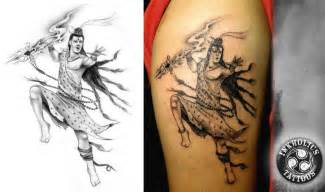 hindu god shiva tattoo design tattoobite com