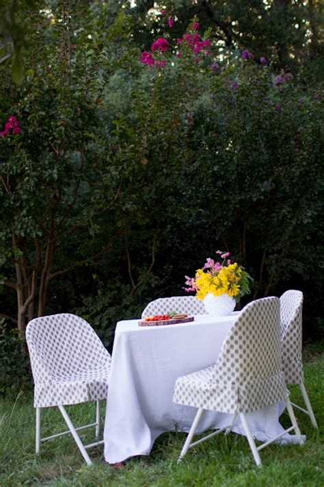 Decorate Metal Folding Chairs by 25 Best Ideas About Folding Chair Covers On