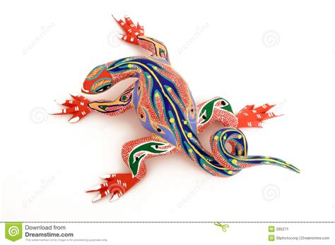 colorful lizard 1 stock image image of animal oaxaca