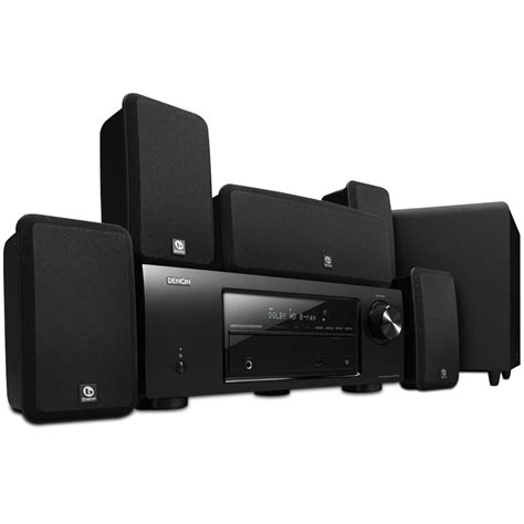 denon dht 1513ba 5 1 channel home theater system dht