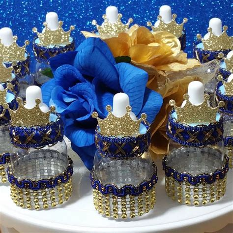 Royal Themed Baby Shower by 12 Royal Prince Baby Shower Favors Boys Royal Blue