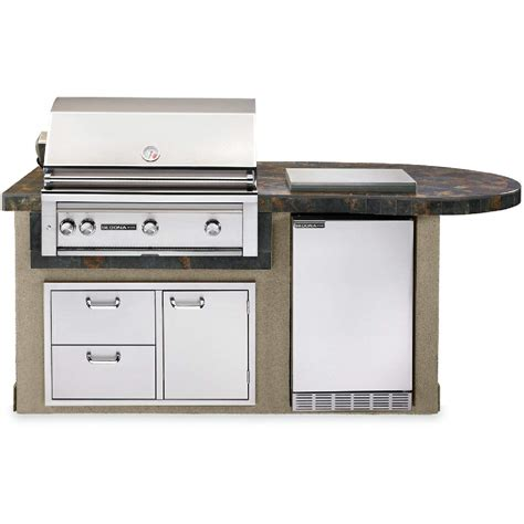sedona by lynx deluxe bbq island with 30 inch natural gas sedona by lynx deluxe bbq grill island with l600psr 36