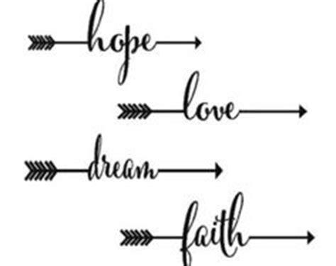 women s faith tattoo with arrows love love love outer