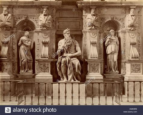 michelangelo s moses statue stock photos moses statue stock images alamy