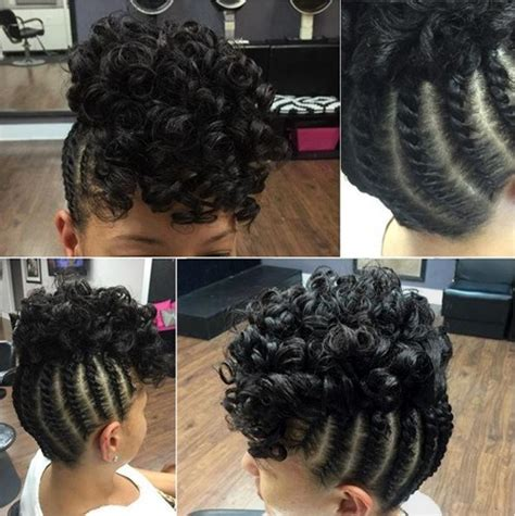 tight curly faux perm steps 50 easy and showy protective hairstyles for natural hair