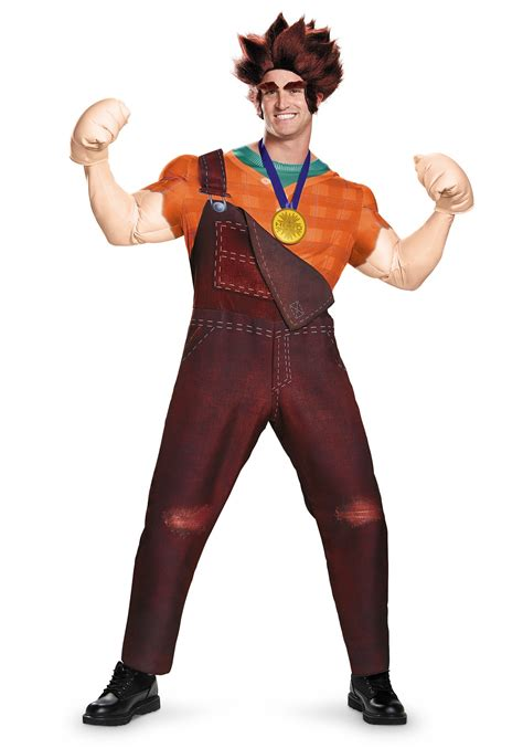 halloween costumes plus size deluxe wreck it ralph costume