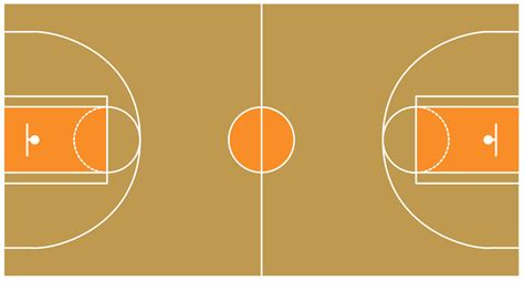 Basketball Court Background Clipart (26 )